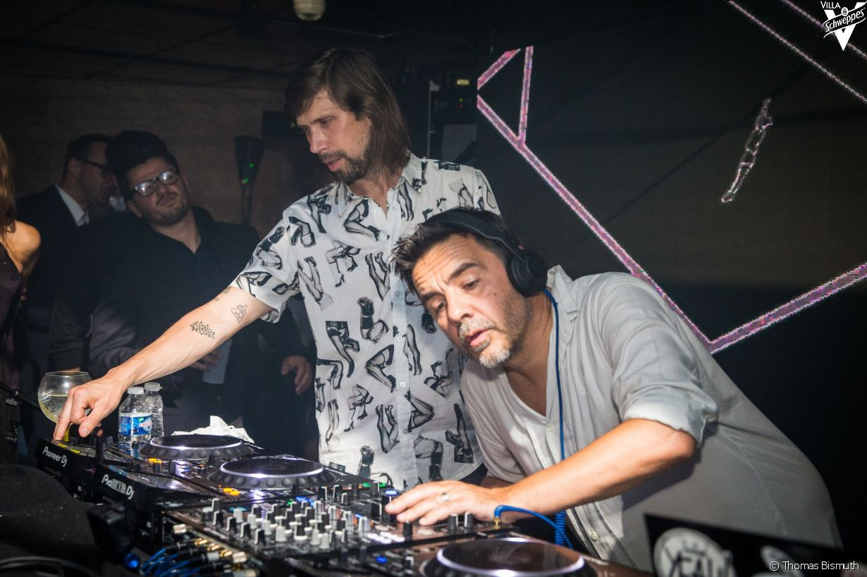 Villa Schweppes à Cannes le 26 mai 2017 - Photo 36 (Busy P et Laurent Garnier)