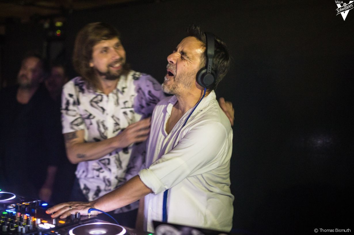 Villa Schweppes à Cannes le 26 mai 2017 - Photo 8 (Busy P et Laurent Garnier)