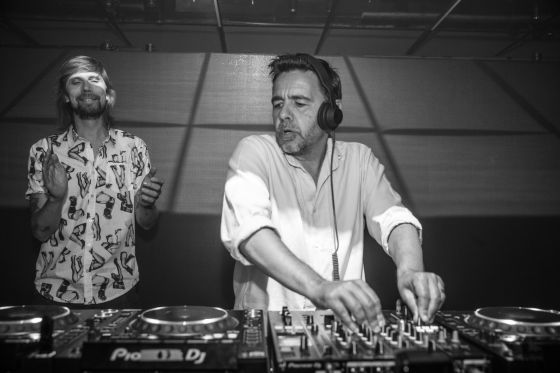 Busy P et Laurent Garnier à la Villa Schweppes à Cannes le 26 mai 2017 - Photo 4