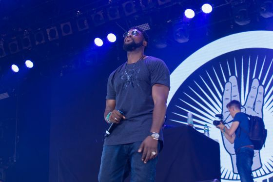 Damso en live samedi 10 juin 2017 au festival We Love Green - Photo 5