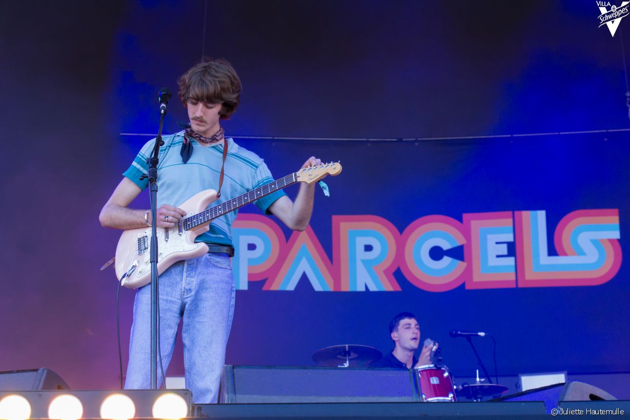 Samedi 10 juin 2017 au festival We Love Green - Photo 6 (Parcels)