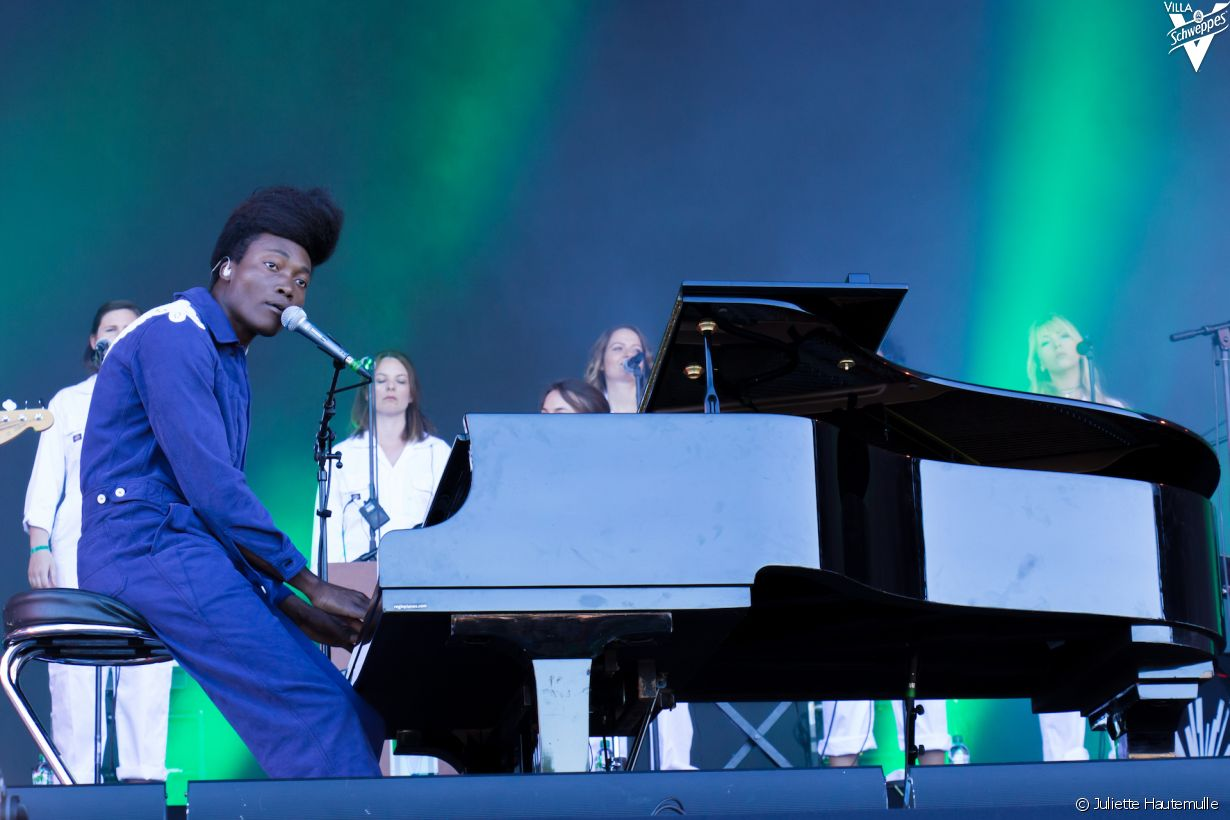 Samedi 10 juin 2017 au festival We Love Green - Photo 52 (Benjamin Clementine)