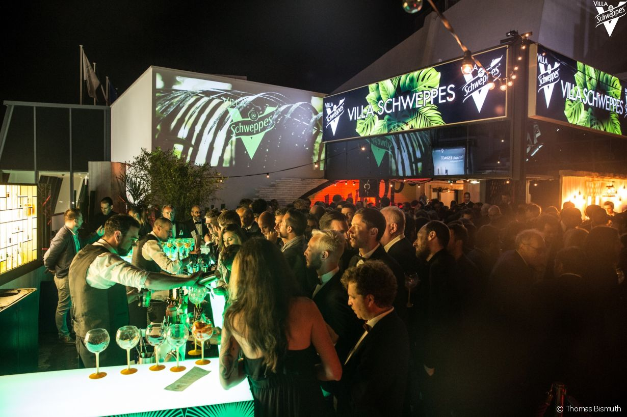 Villa Schweppes à Cannes le 16 mai 2018 - Photo 31