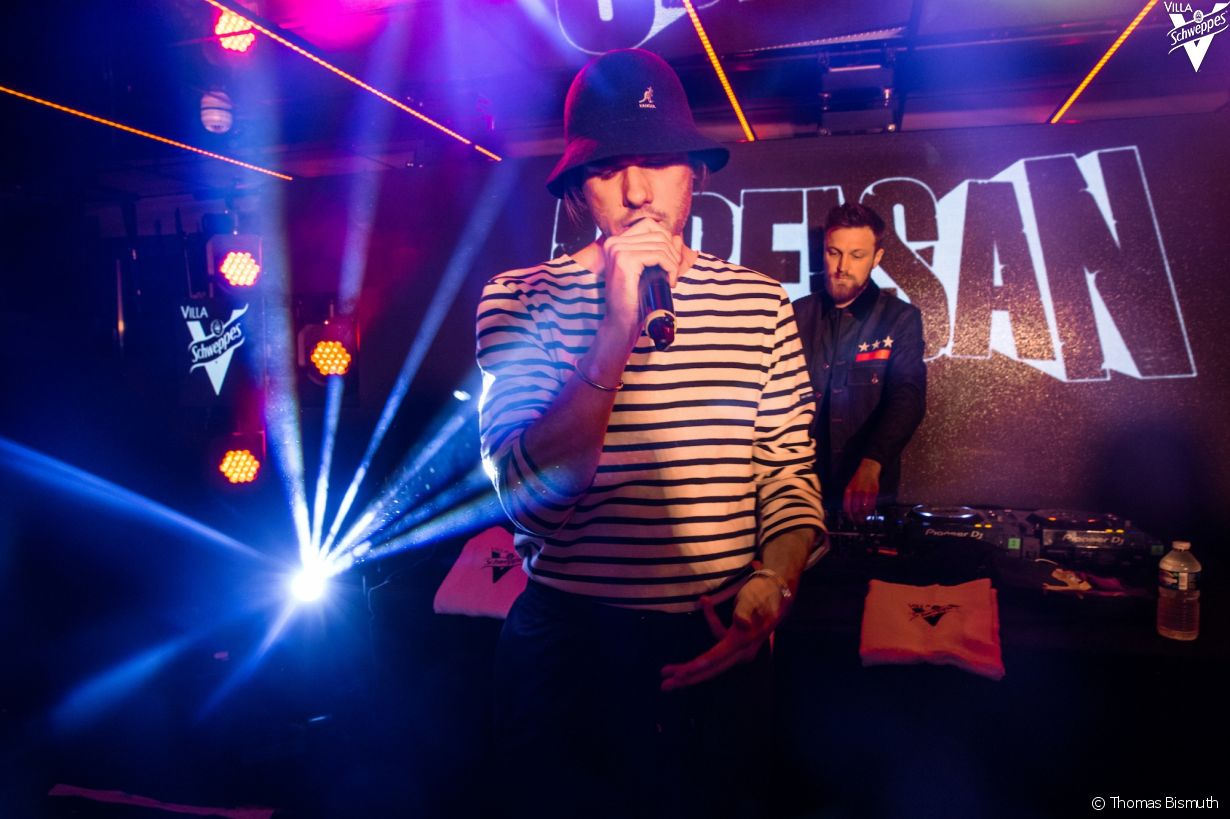 Villa Schweppes à Cannes le 16 mai 2018 - Photo 12 (Orelsan)