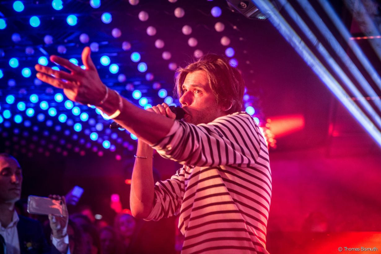 Villa Schweppes à Cannes le 16 mai 2018 - Photo 1 (Orelsan)