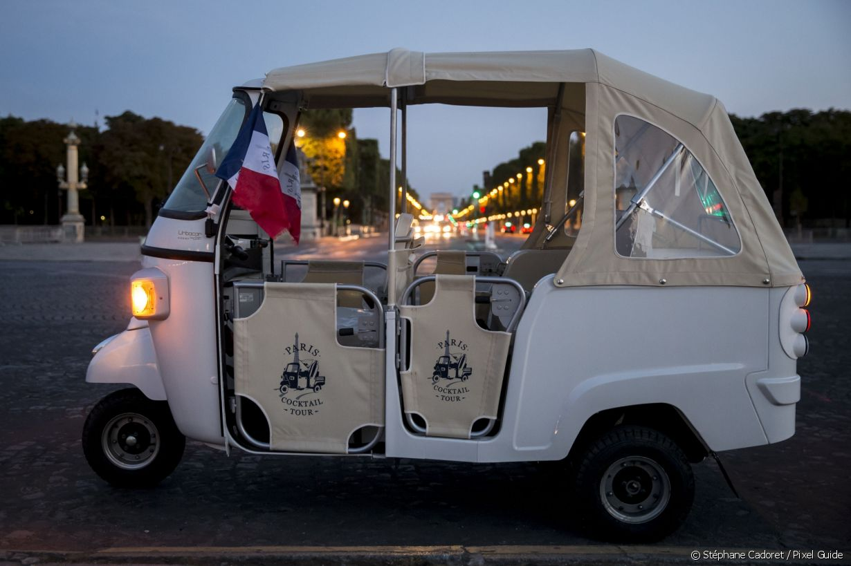 Le tuktuk du Paris Cocktail Tour - Photo 2