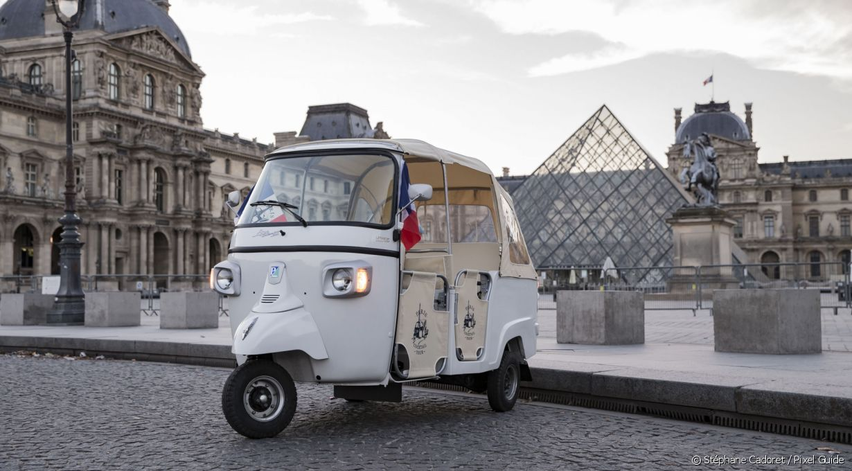 Le tuktuk du Paris Cocktail Tour