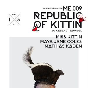 Le Flyer de la soirée Republic of Kittin.