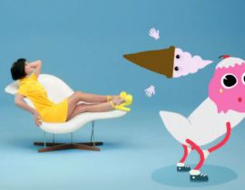 "Katy Perry fait twerker une glace animée dans le clip de ""This Is How We Do"""