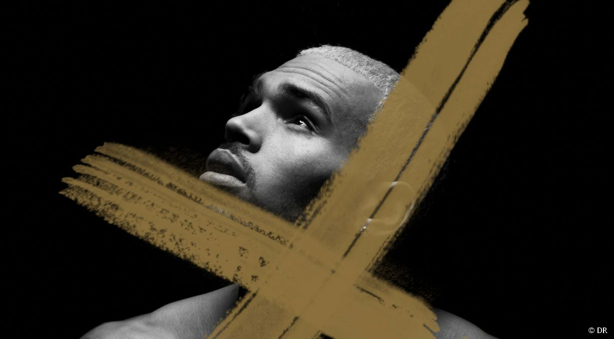 La Pochette de X de Chris Brown