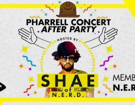 Aftershow Pharrell Williams le 16 octobre au club des Saint-Pères avec Shay Haley de N.E.R.D