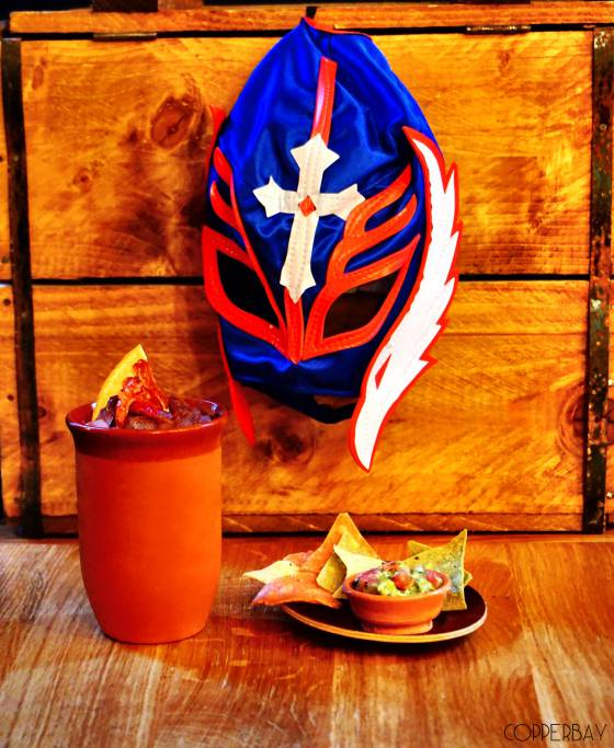 "Le cocktail ""El Luchador"" du CopperBay"