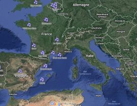 Techno Traveller Map, la Google Map des clubs mondiaux