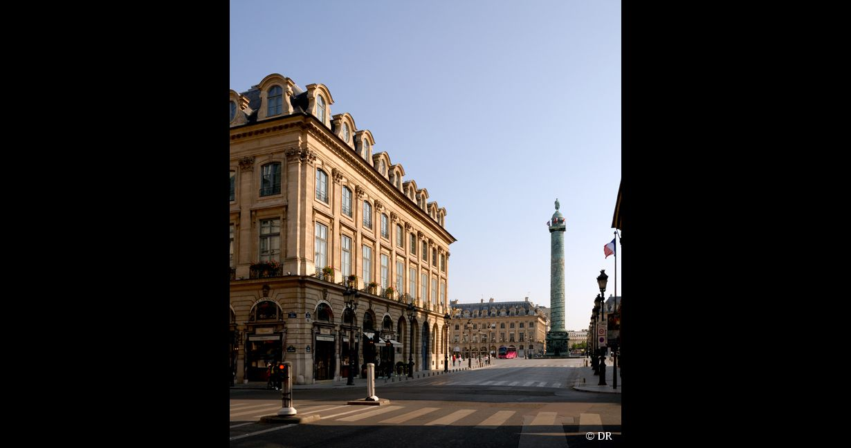 La Place Vendôme à Paris