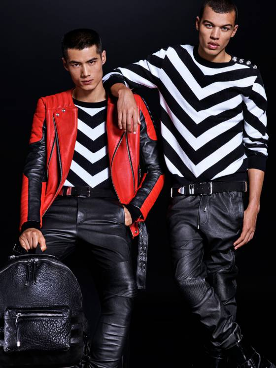 H m x balmain la collection homme d voil e - Ancienne collection h m ...