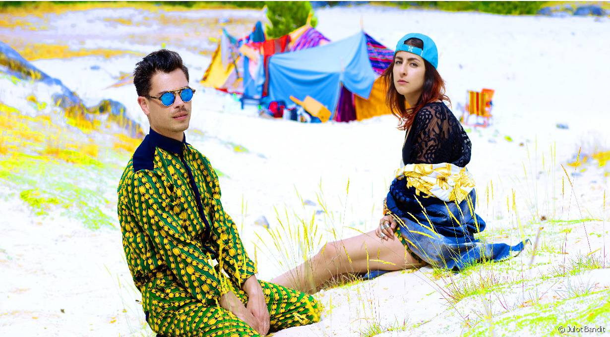 Nili Hadida et Benjamin Cotto de  Lilly Wood and The Prick
