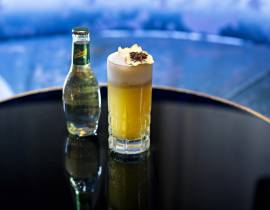 Cocktail sans alcool : L'Apple Blast du Bristol