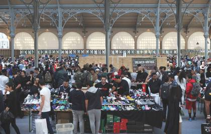 La 8e édition du Sneakers Event arrive au Carreau du Temple !