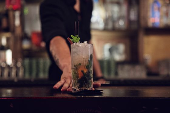 Un cocktail du Beverly Paris