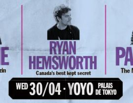 Free your Funk : Ryan Hemsworth, DJ Pone et Para One le 30 avril