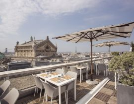 Le rooftop des Galeries Lafayette : du shopping et un cocktail