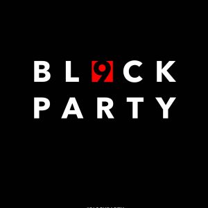 Poster BL9CK PARTY