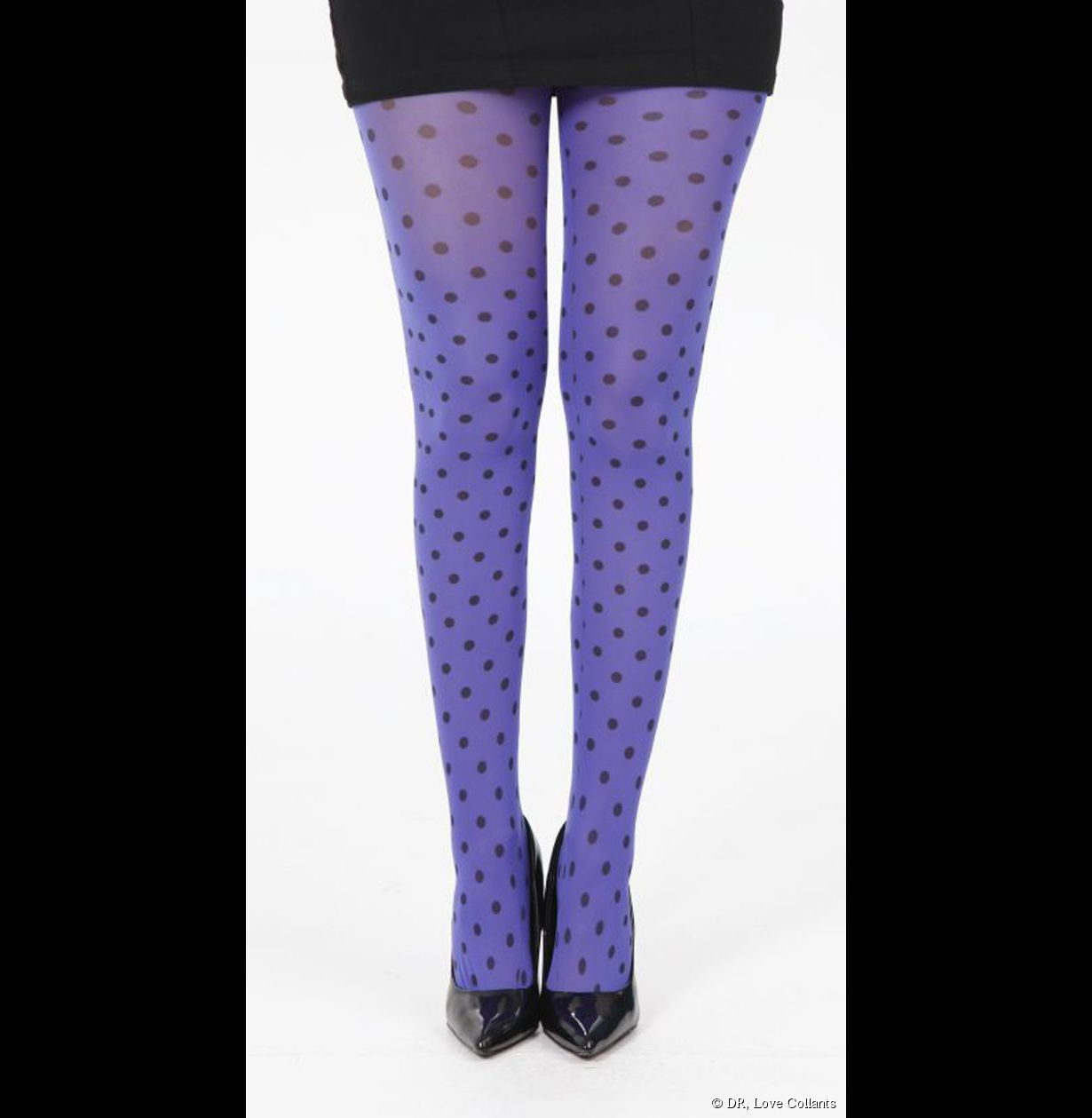 Collants à points Polka violet  - Love Collants (existe en différentes couleurs), 10,2€5