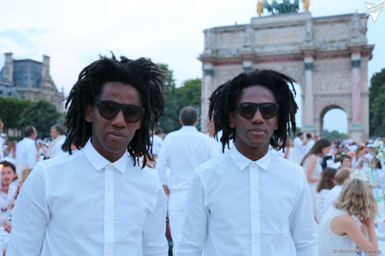 Le diner en blanc 2015 - 32 (William et Wilson Doppleganger)