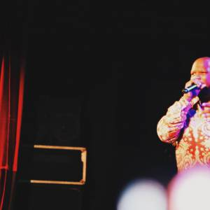 Action Bronson au Trianon, 21 septembre 2015 (Meyhem Lauren)