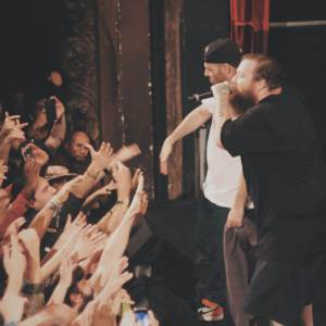 Action Bronson au Trianon, 21 septembre 2015 (The Alchemist & A.B.)