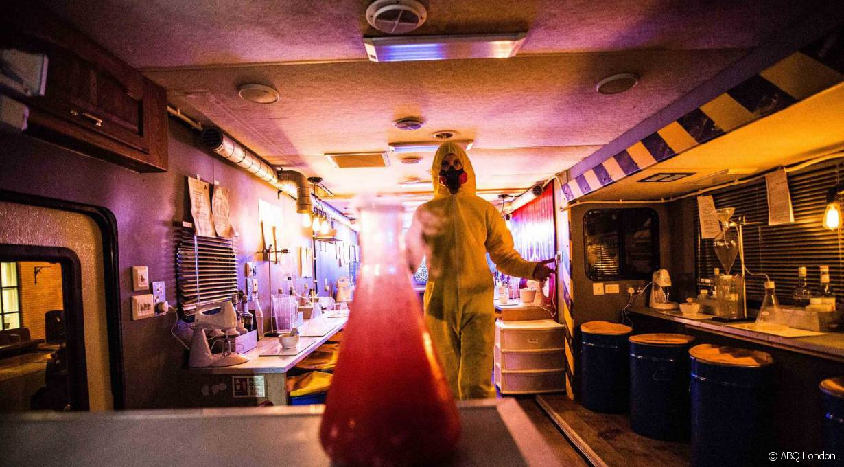 Le bar à cocktails Breaking Bad débarque à Paris !