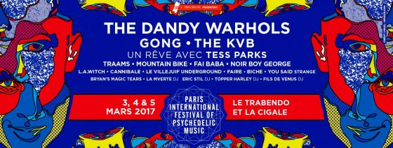 Paris International Festival of Pscychedelic Music 2017