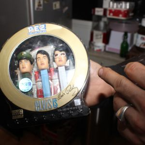 Les figurines PEZ à l'effigie d'Elvis