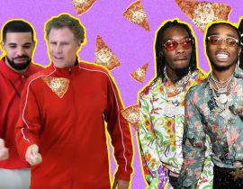 Glace à la pizza (oui), les Migos, Drake & Will Ferrell... les infos unexpected