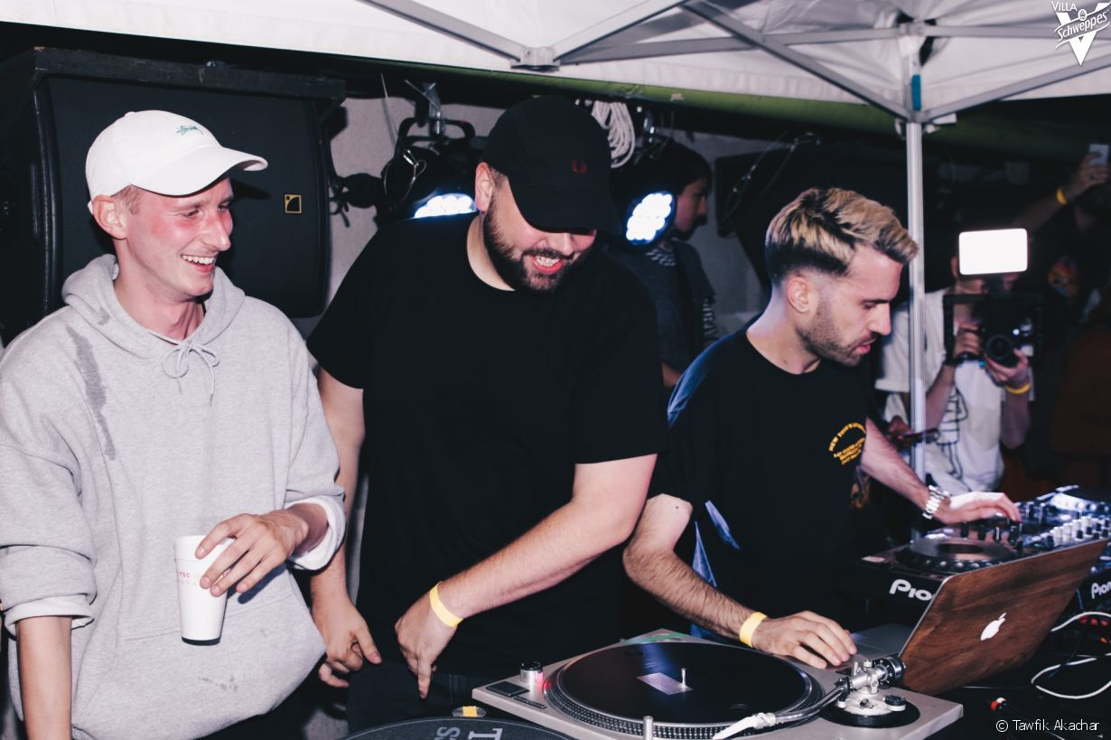 Yard Summer Club au Wanderlust, le 11/07/17 - photo 2 (The Drunken Masters, A-Trak)
