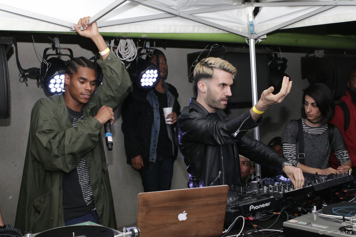 Yard Summer Club au Wanderlust, le 11/07/17 - photo 1 (A-Trak)