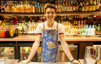 Interview bartender : Jérémy Brun du No Entry, speakeasy du Pink Mamma