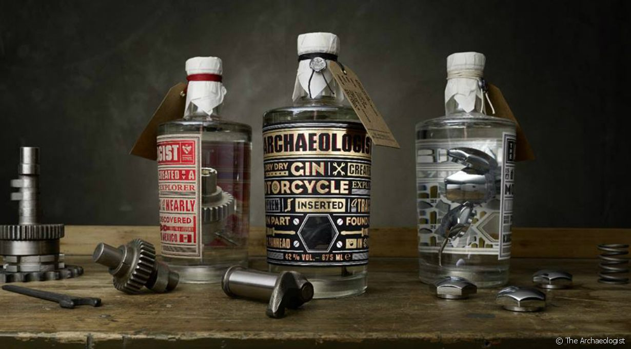Les gins de The Archaeologist