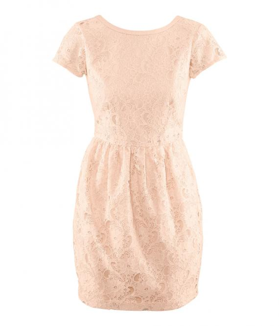 release info on new collection fashion style Pink Dresses: Robe Rose Poudrée H M
