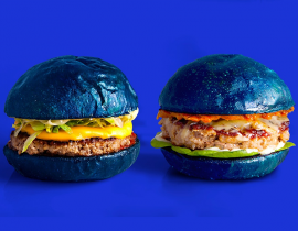The Farewell, le burger bleu d'adieu de colette