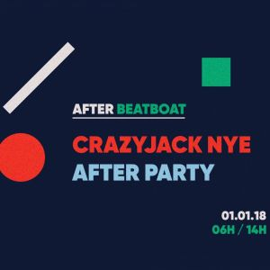 "L'after CrazyJack sur le ""Beat Boat"" le 1er janvier 2018"