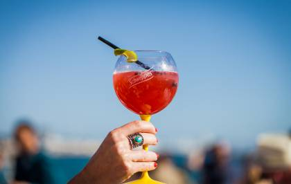 Le cocktail Palme Rouge du Festival de Cannes