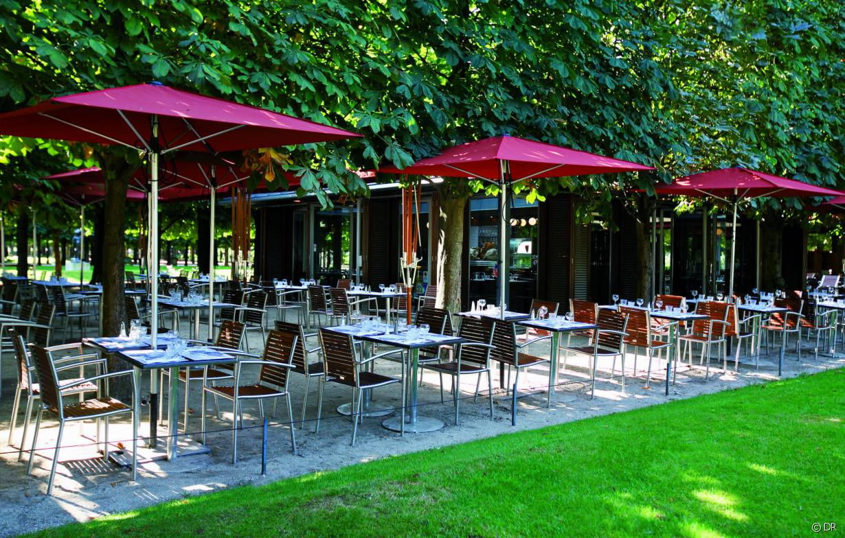 Le caf des marronniers la pause cocktail au coeur des for Au jardin restaurant