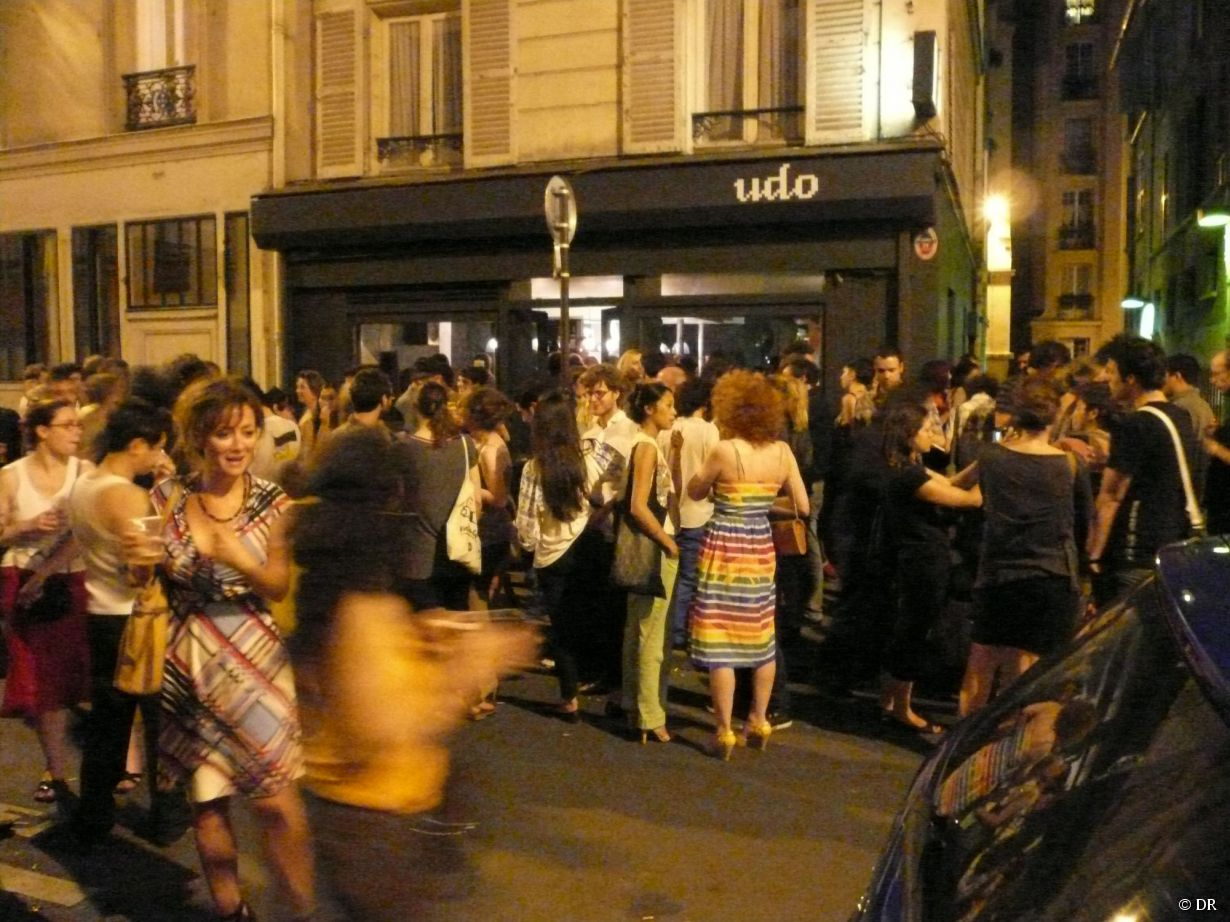 Devanture de l'Udo Bar