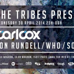 The Tribes presents Carl Cox le 30 avril