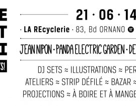Le Petit Festival N.U.T.S le 21 juin à la REcyclerie !