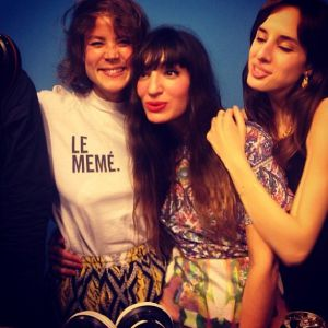 Le Collectif Girls GIrls Girls, avec louise Chen, Piu Piu et Betty Bensimon