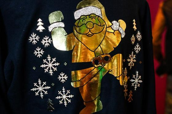 The most expensivest ugly christmas sweater
