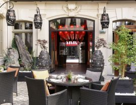 Bienvenue sur la terrasse Jungle Chic du Buddha-Bar Hotel Paris