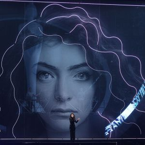 Lorde aux Brit Awards